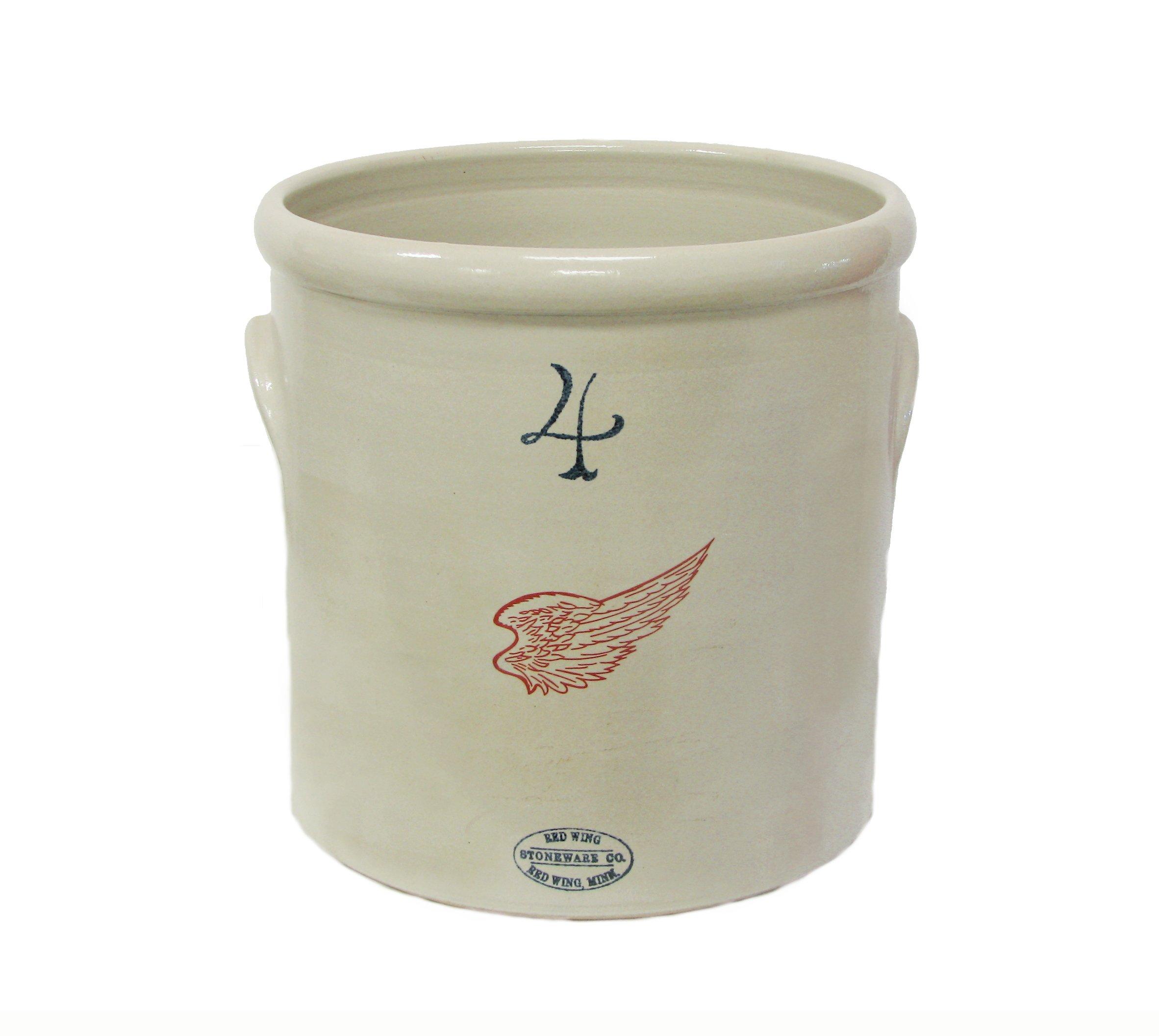 lug handled crocks red wing stoneware amp pottery
