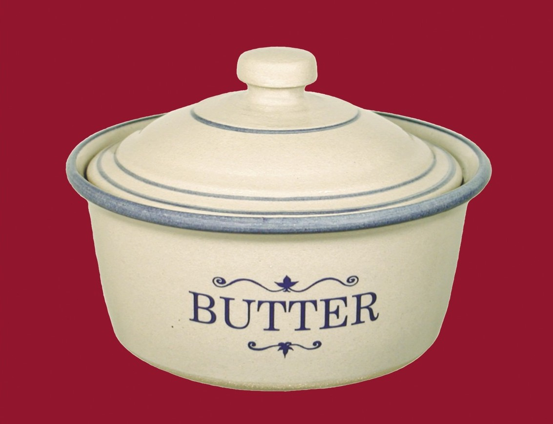 Butter Crock With Lid Red Wing Stoneware Amp Pottery