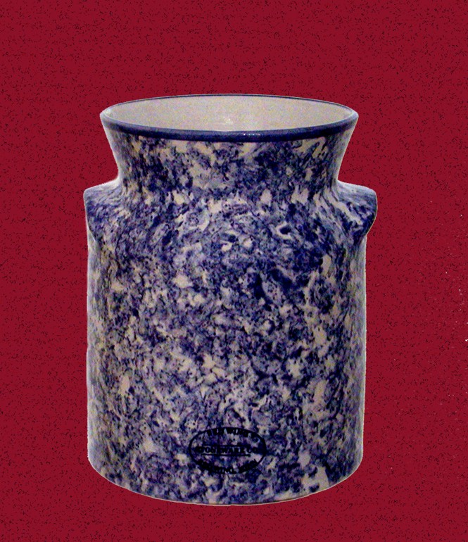 Cream Can Utensil Holder Red Wing Stoneware & Pottery