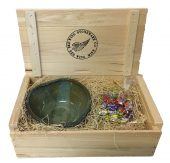 Gift Box Heart Bowl Stary Night