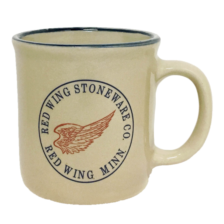 crock style mug 10 oz red wing stoneware amp pottery