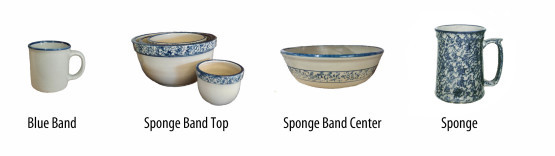 stoneware decoration options sponge 2014