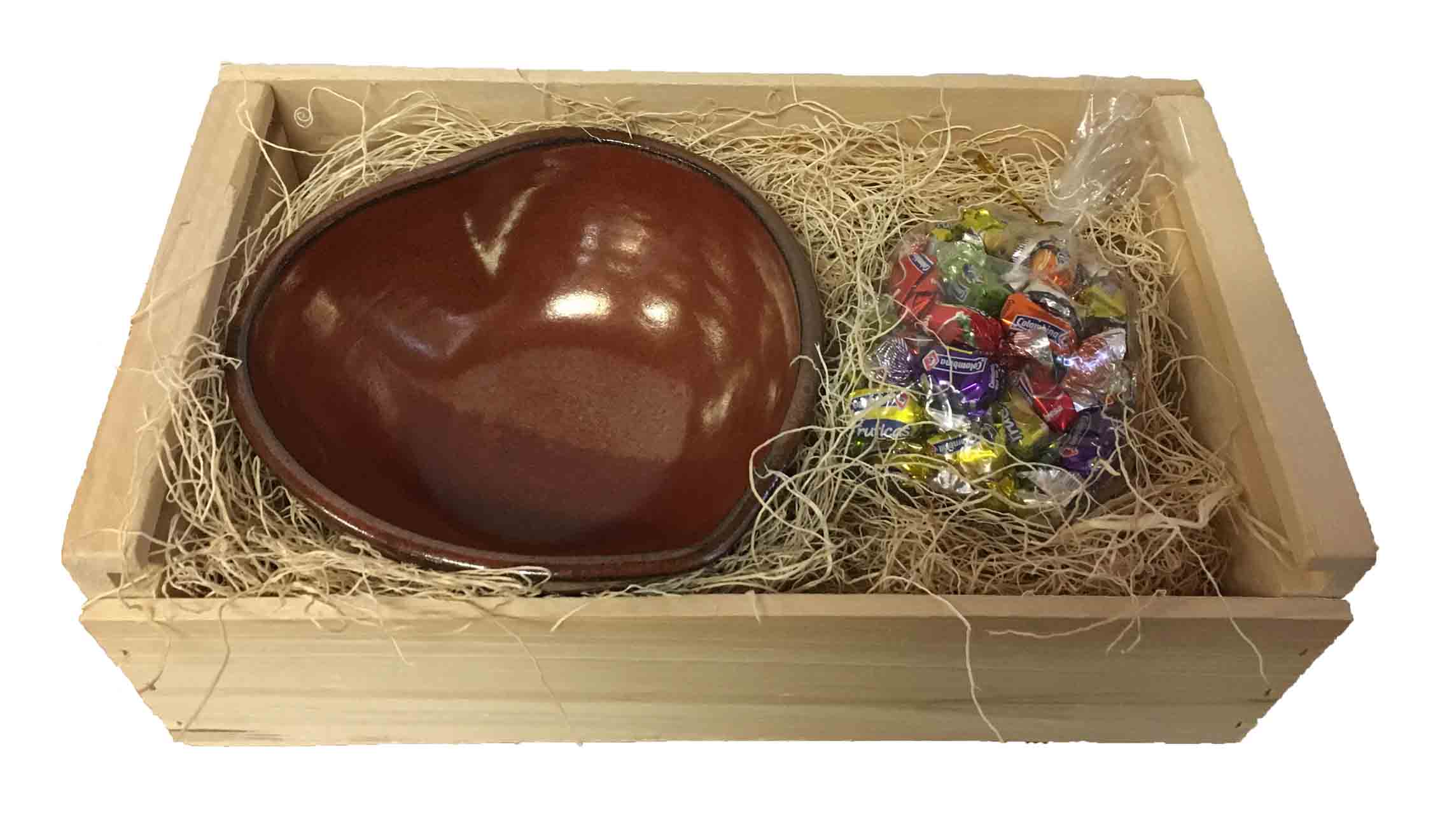 Heart shaped bowl candy gift box red wing stoneware pottery heart shaped bowl candy gift box negle Gallery